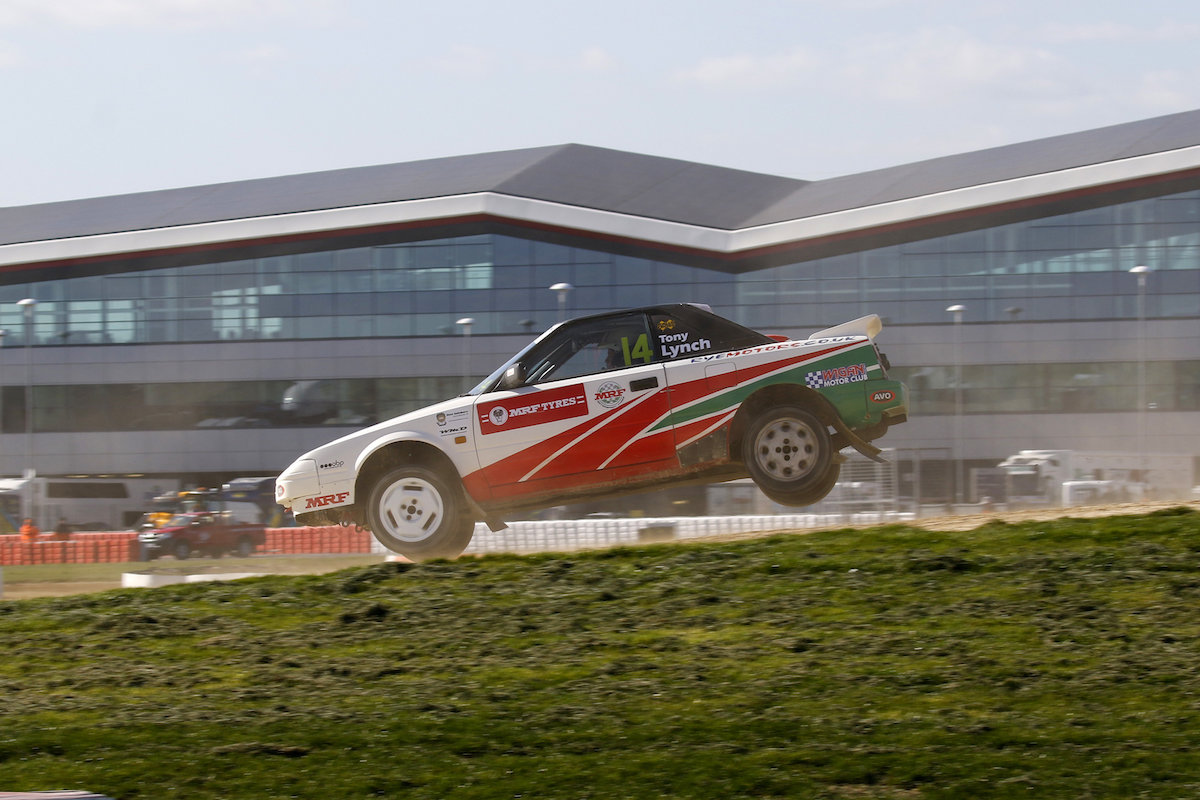 Solid start to Retro life for Tony Lynch at Silverstone