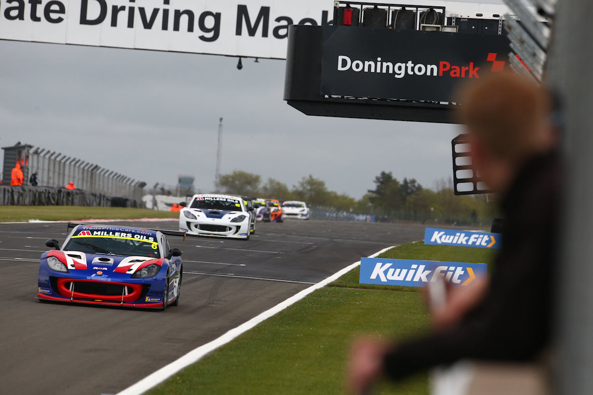Maiden victory for Dan Kirby at Donington Park