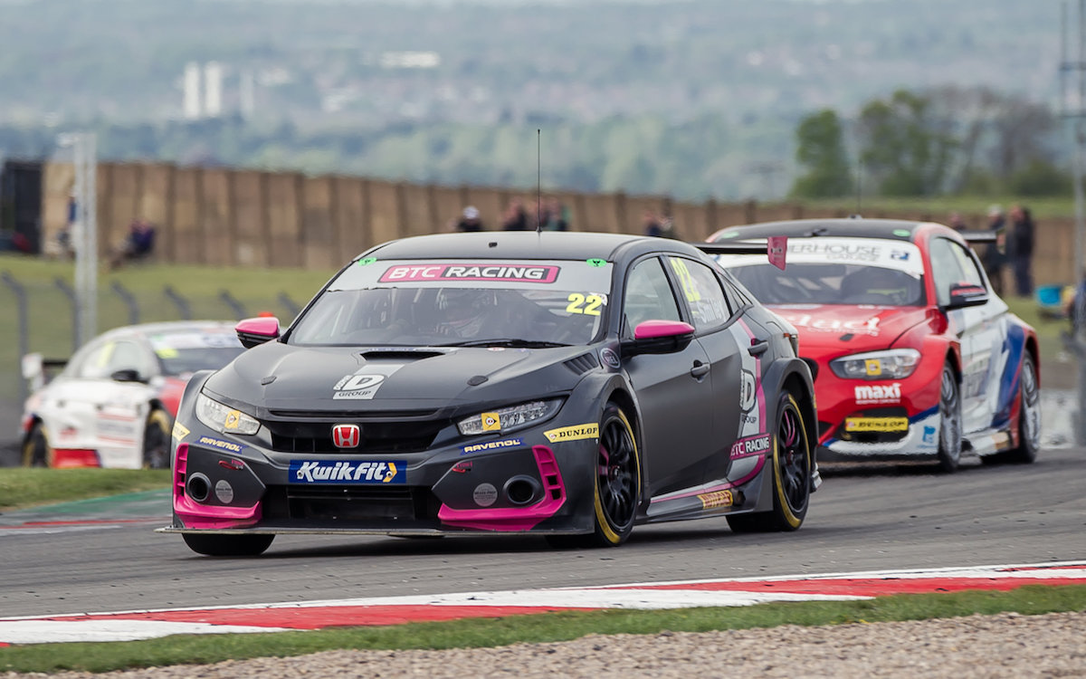 BTC Racing battles back to Donington Park podium