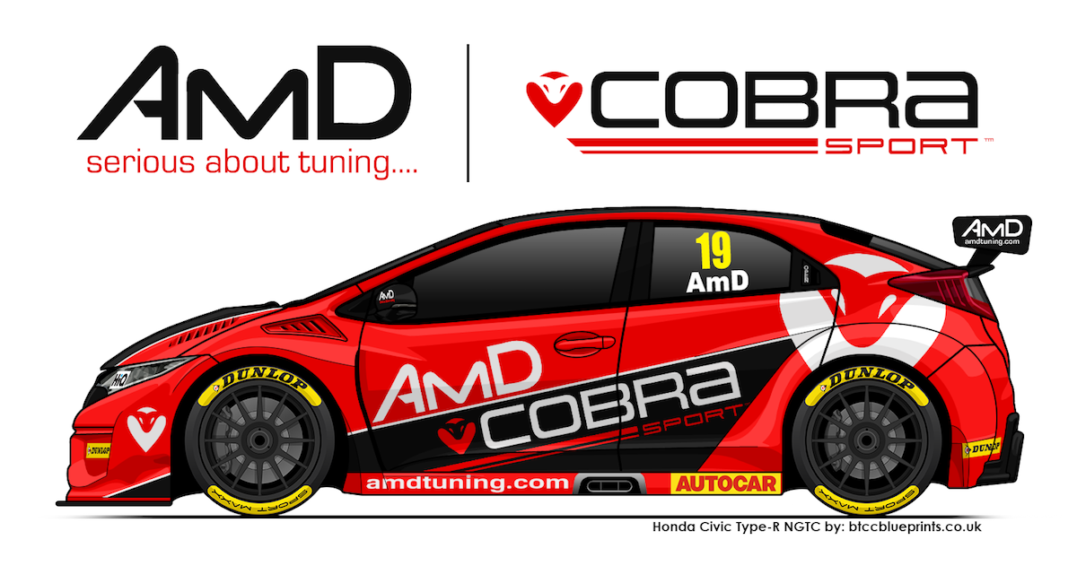 Cobra Sport AmD Racing reveals Honda BTCC programme