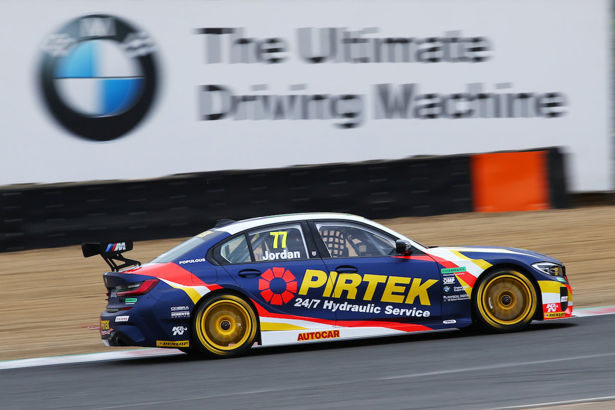 Andrew Jordan excited as new era begins for BMW Pirtek Racing