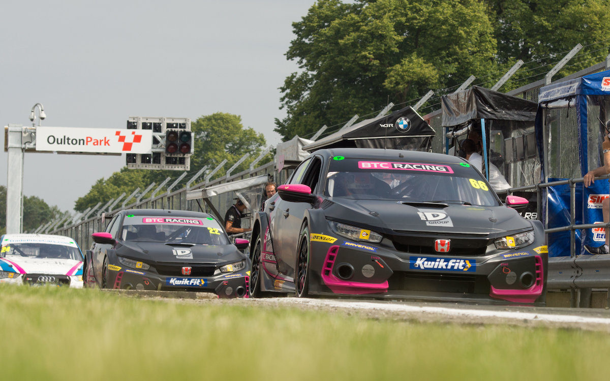 BTC Racing battles hard for Oulton Park points