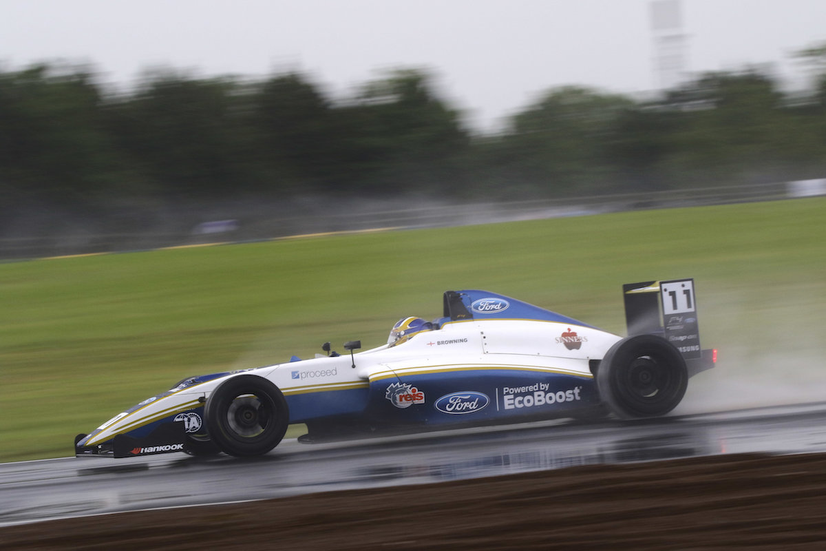 Challenging British F4 weekend for Richardson Racing at Croft