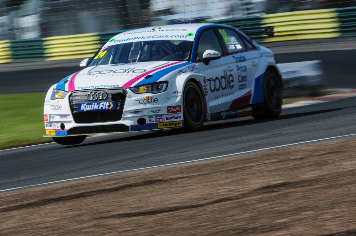 More points from tough weekend for Trade Price Cars Racing at Croft