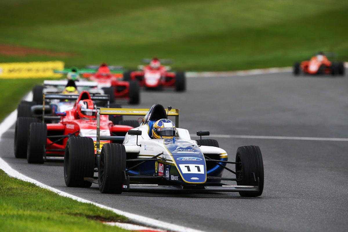 Triple podium caps strong British F4 season for Richardson Racing