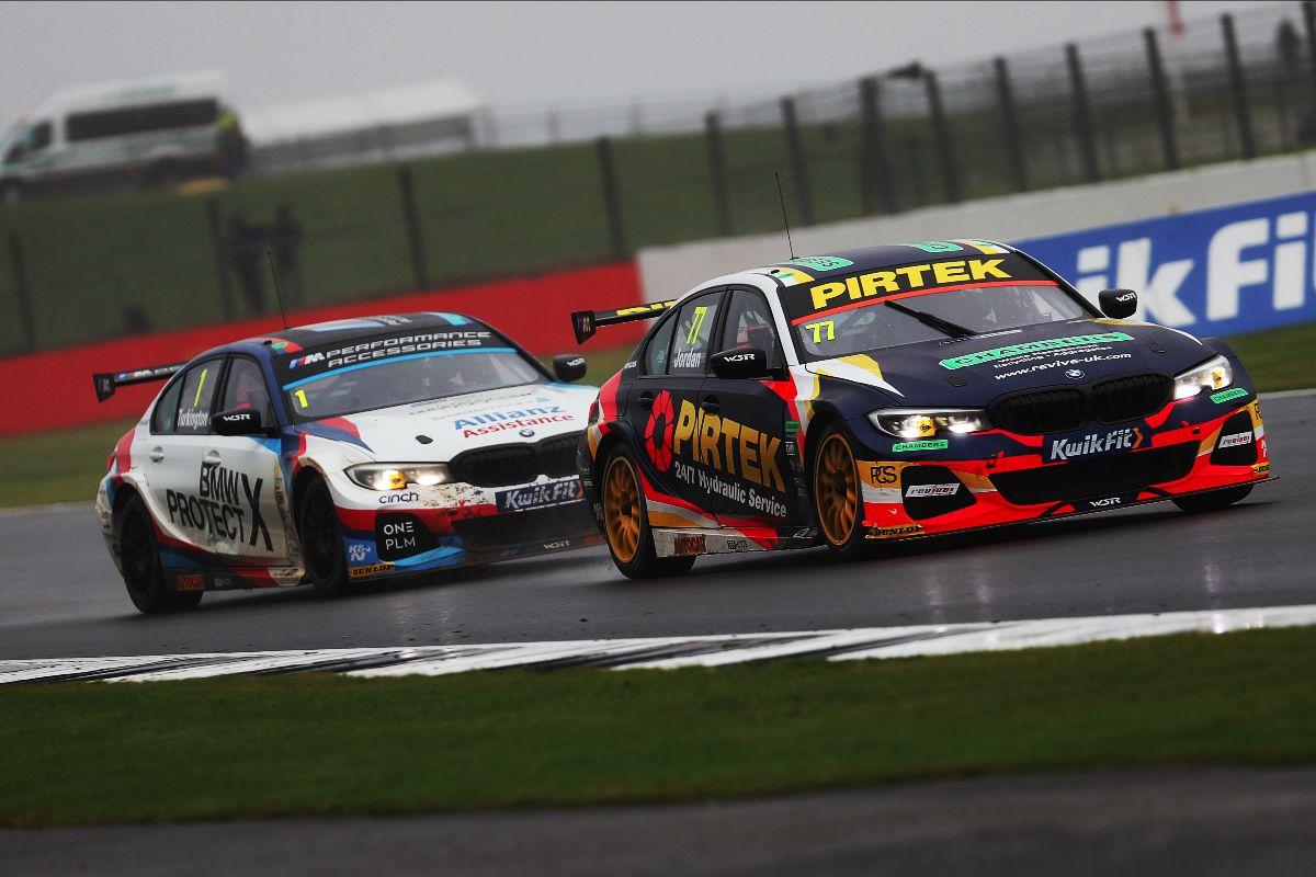 Andrew Jordan and BMW Pirtek Racing remain in the hunt at Silverstone