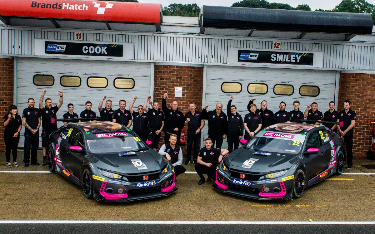 BTC Racing goes close on BTCC Finals Day at Brands Hatch