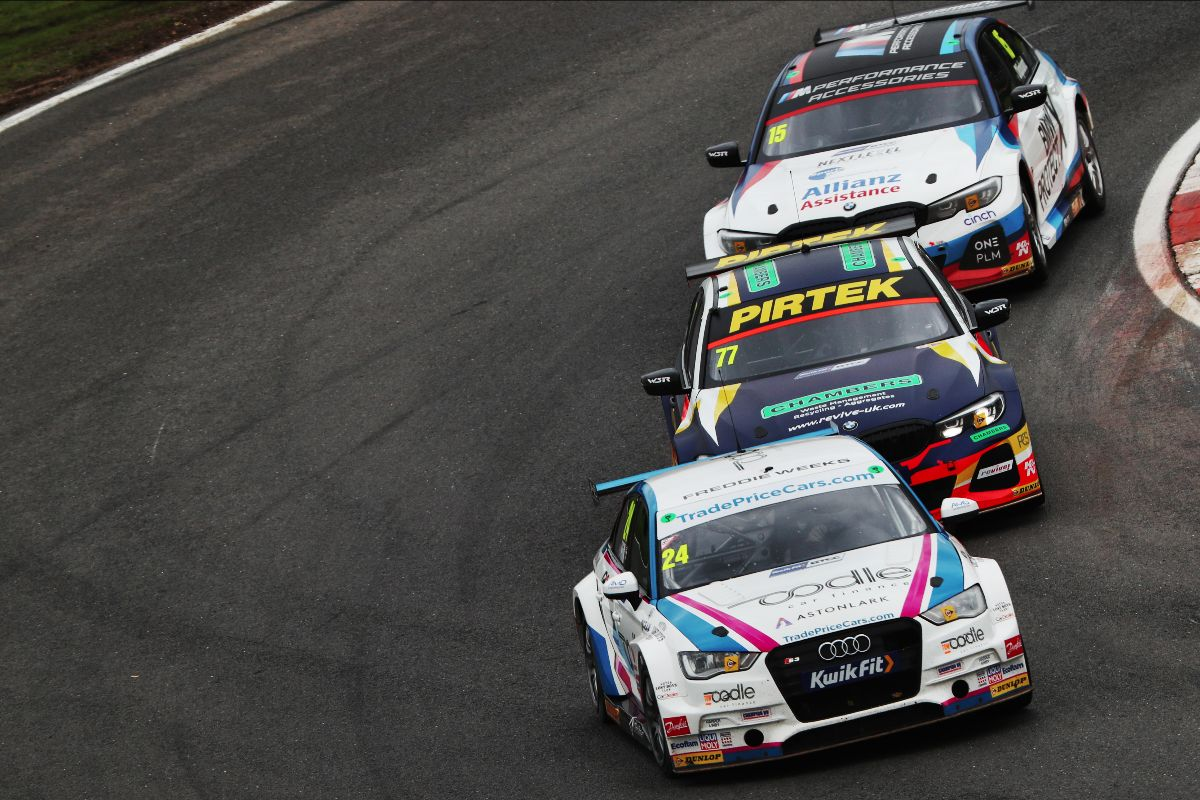 Front running pace for Trade Price Cars Racing in BTCC finale