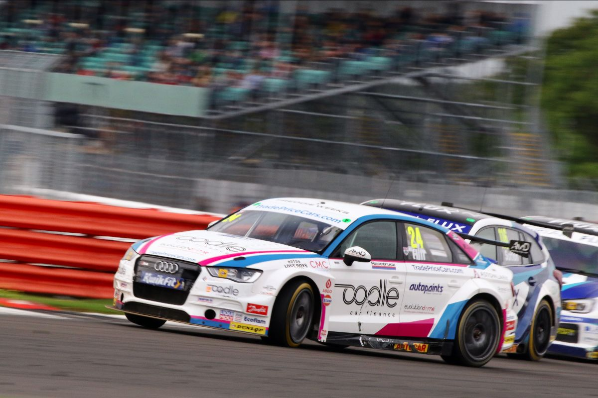 Double points for Trade Price Cars Racing at Silverstone