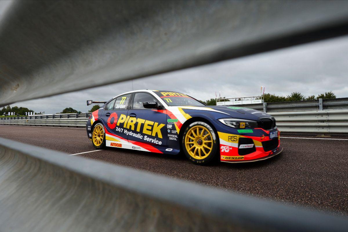 Pirtek Racing and Andrew Jordan target big score at Knockhill