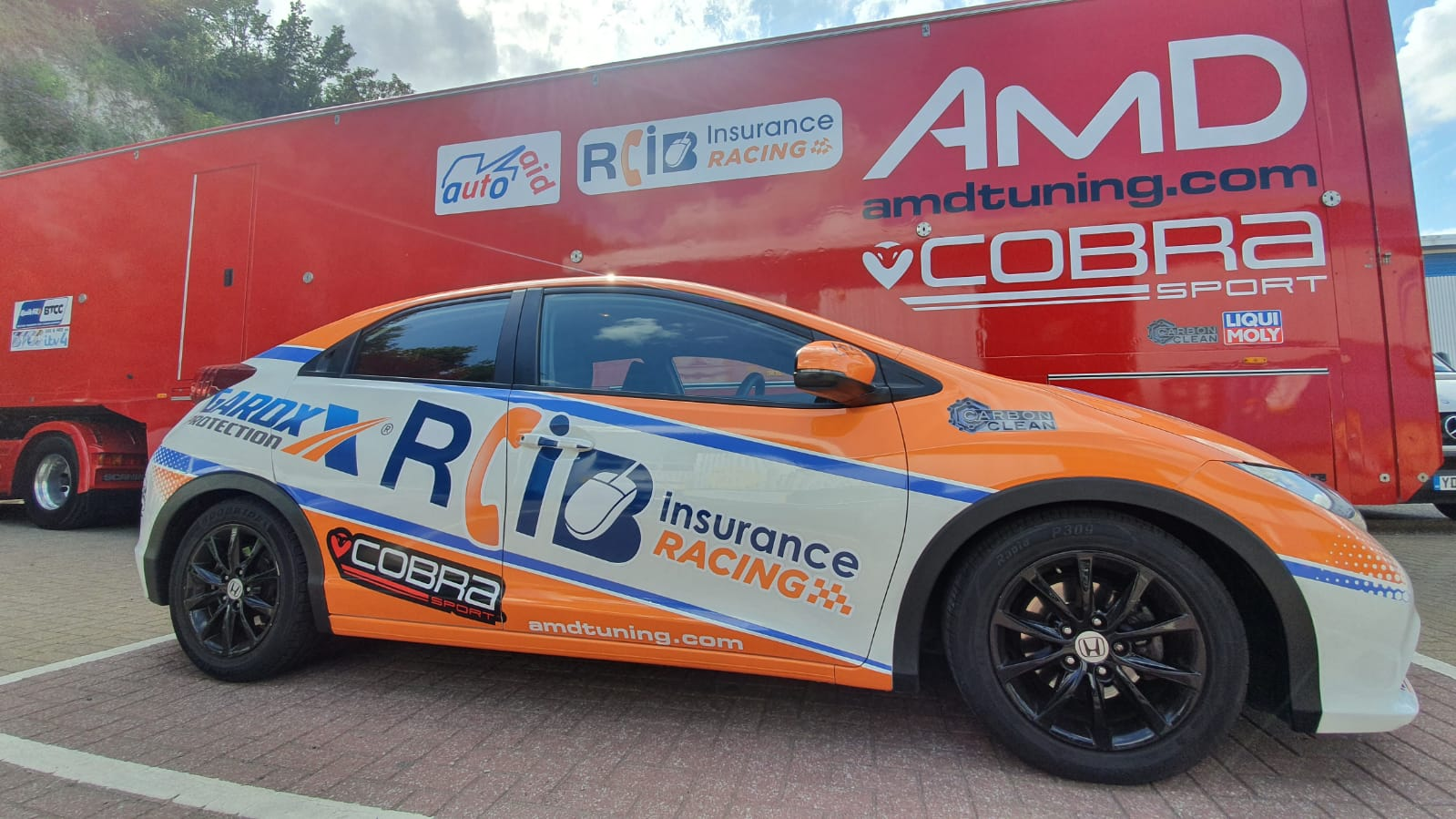 Two final chances to win a Cobra Sport AmD with AutoAid/RCIB Insurance Racing replica on BTCC Finals Day