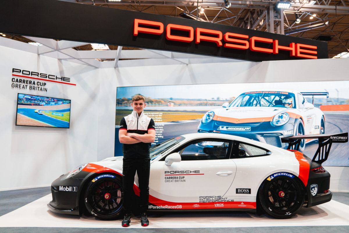 Harry King secures Team Parker seat for Porsche Carrera Cup GB debut