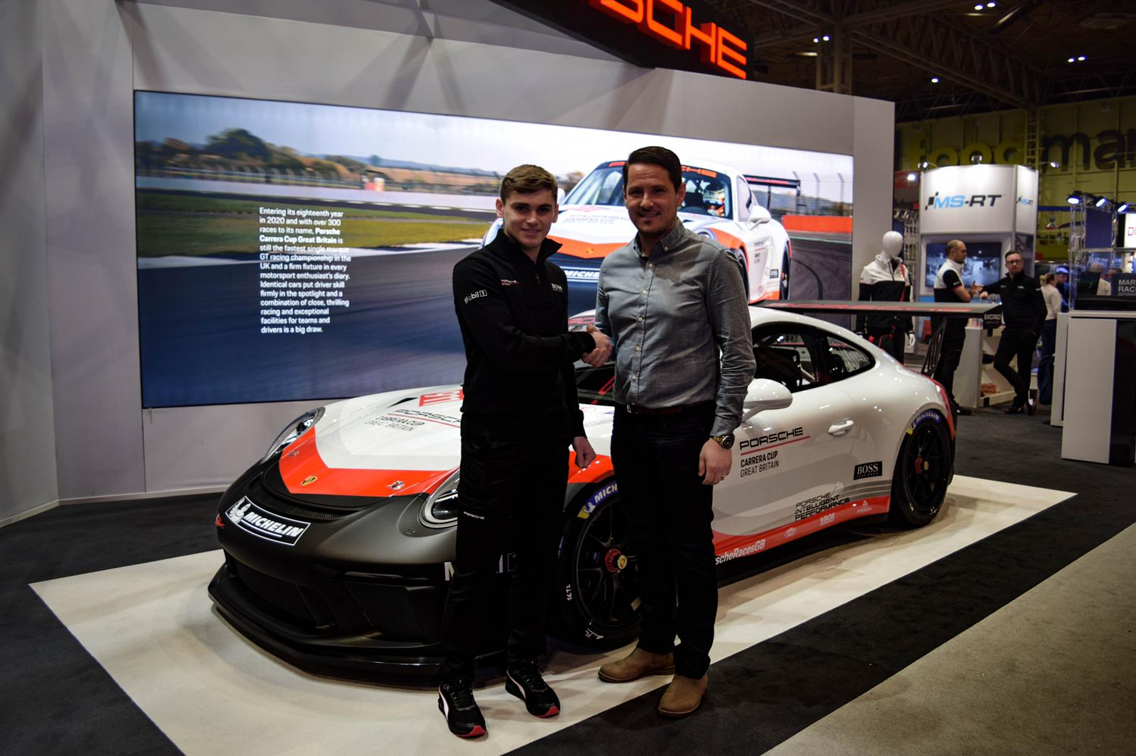 Octane Finance to back Porsche Junior driver Harry King for Carrera Cup GB debut