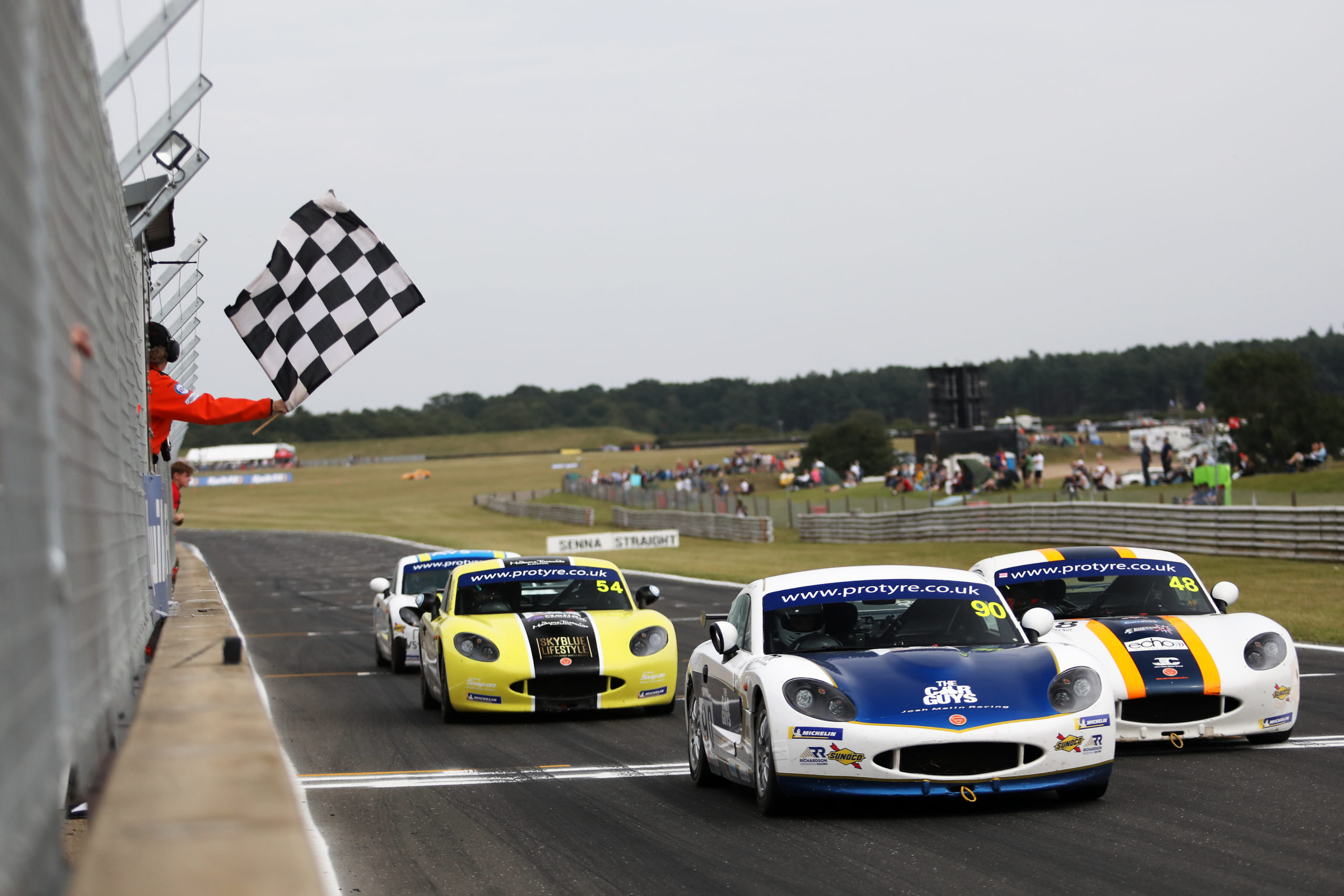 Richardson Racing target title success with multi-car Ginetta GT5 Challenge entry