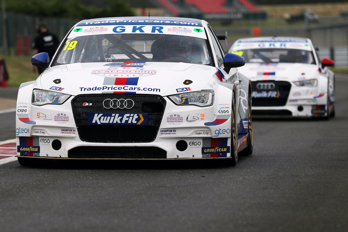 GKR TradePriceCars.com returns to action in Snetterton test