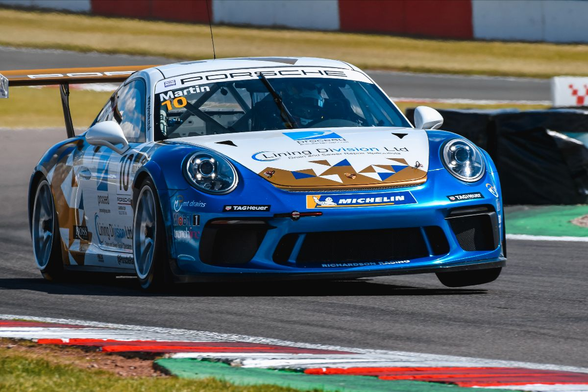 Solid Porsche Carrera Cup bow for Richardson Racing