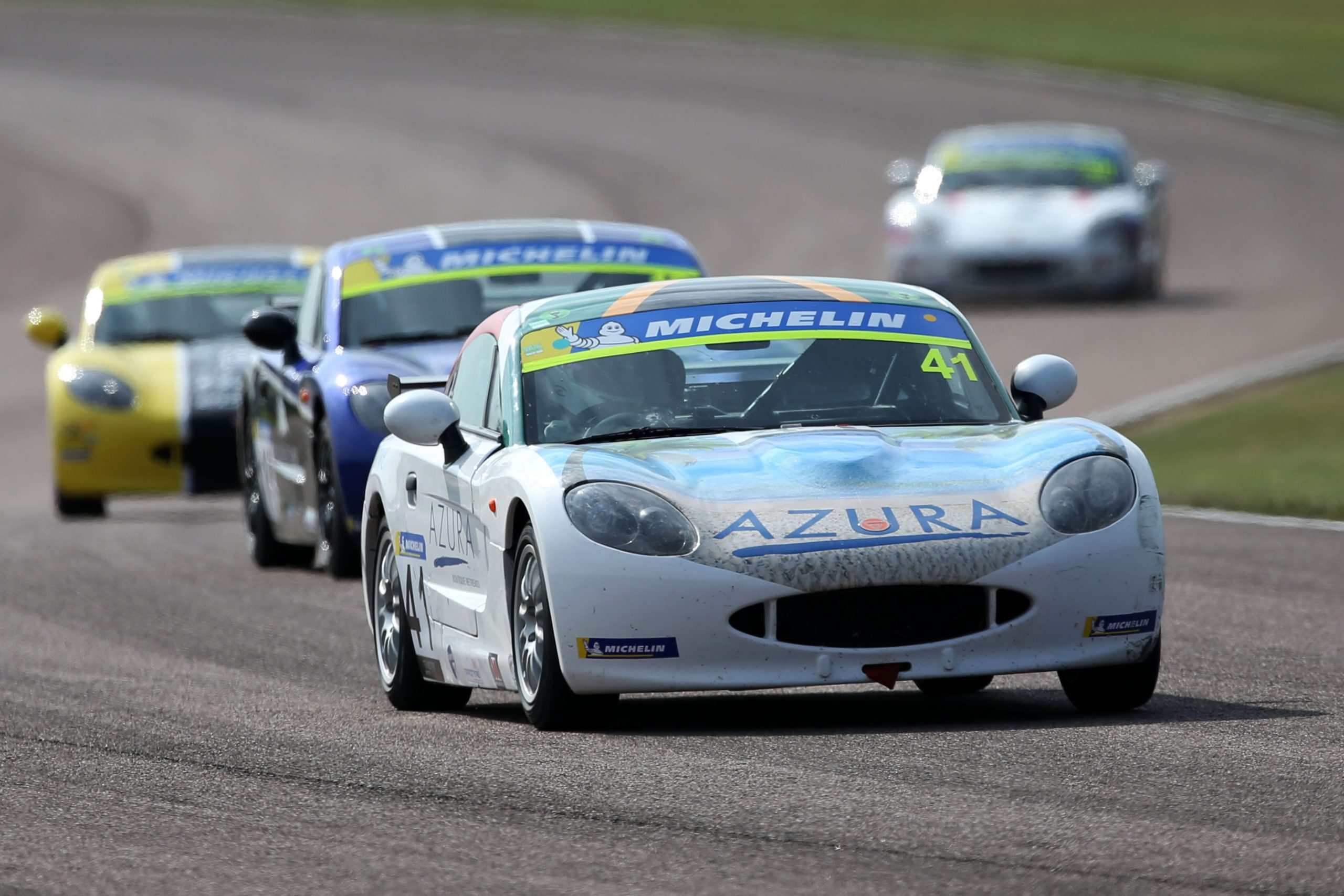 Richardson Racing in the wars as Ginetta Junior battle resumes