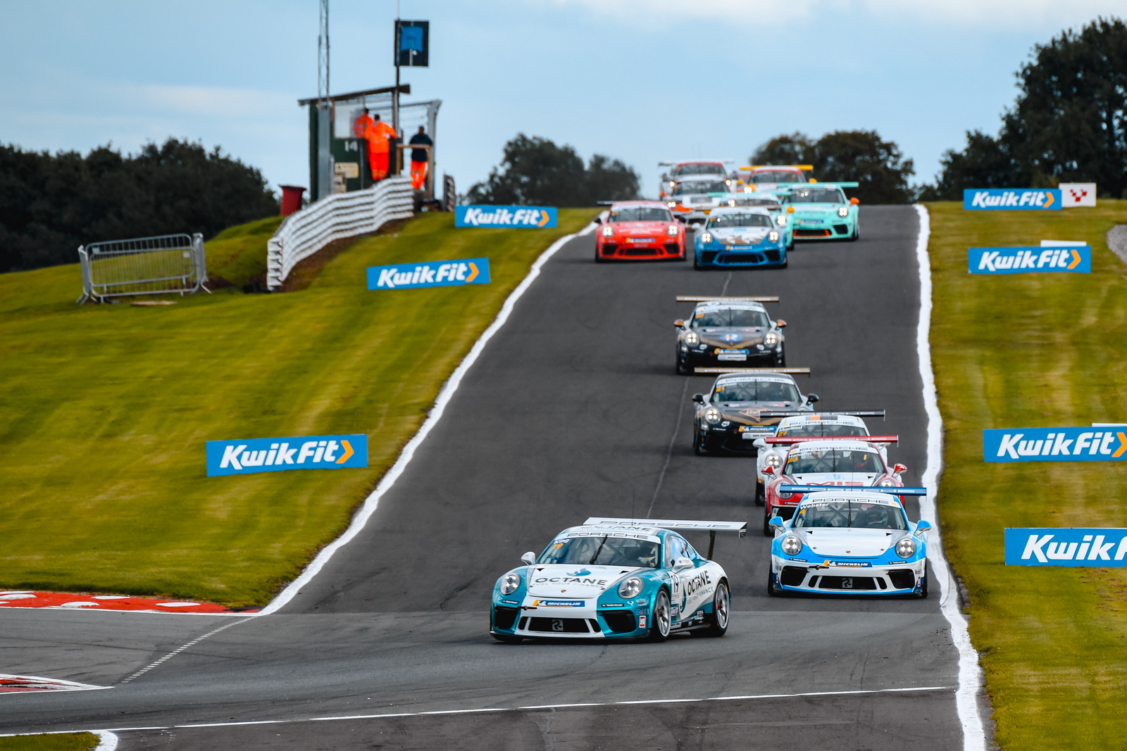 Octane Finance backed Harry King extends Porsche Carrera Cup advantage