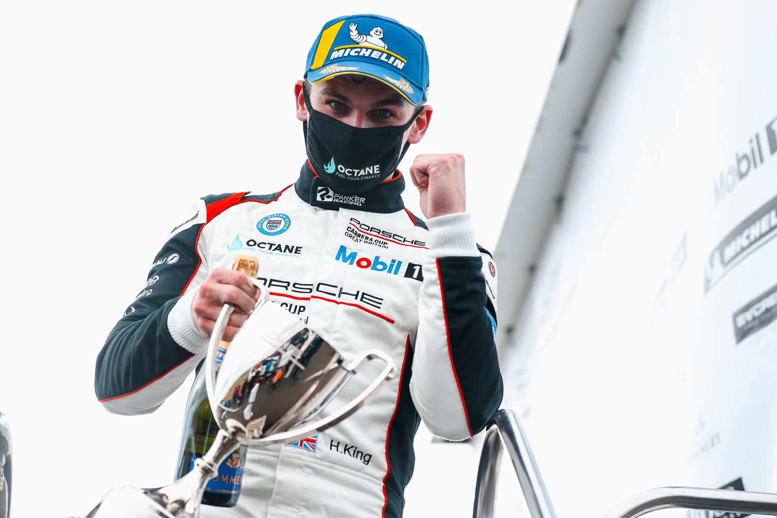 Octane Finance-backed Harry King rockets to stunning Knockhill win