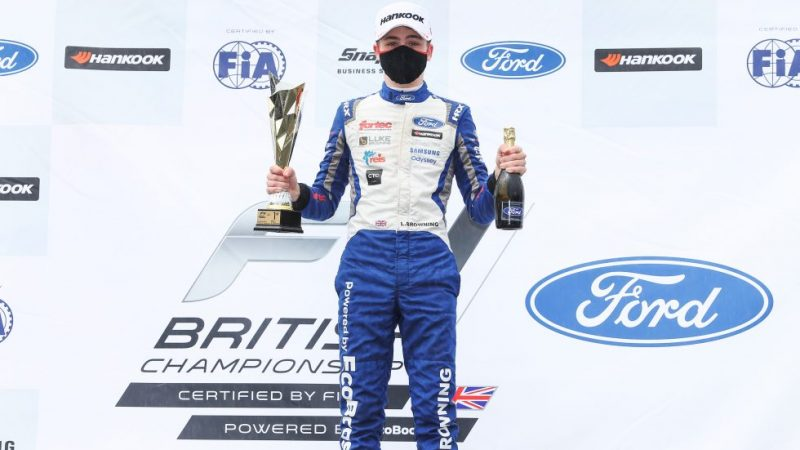 Triple success for Luke Browning at Oulton Park