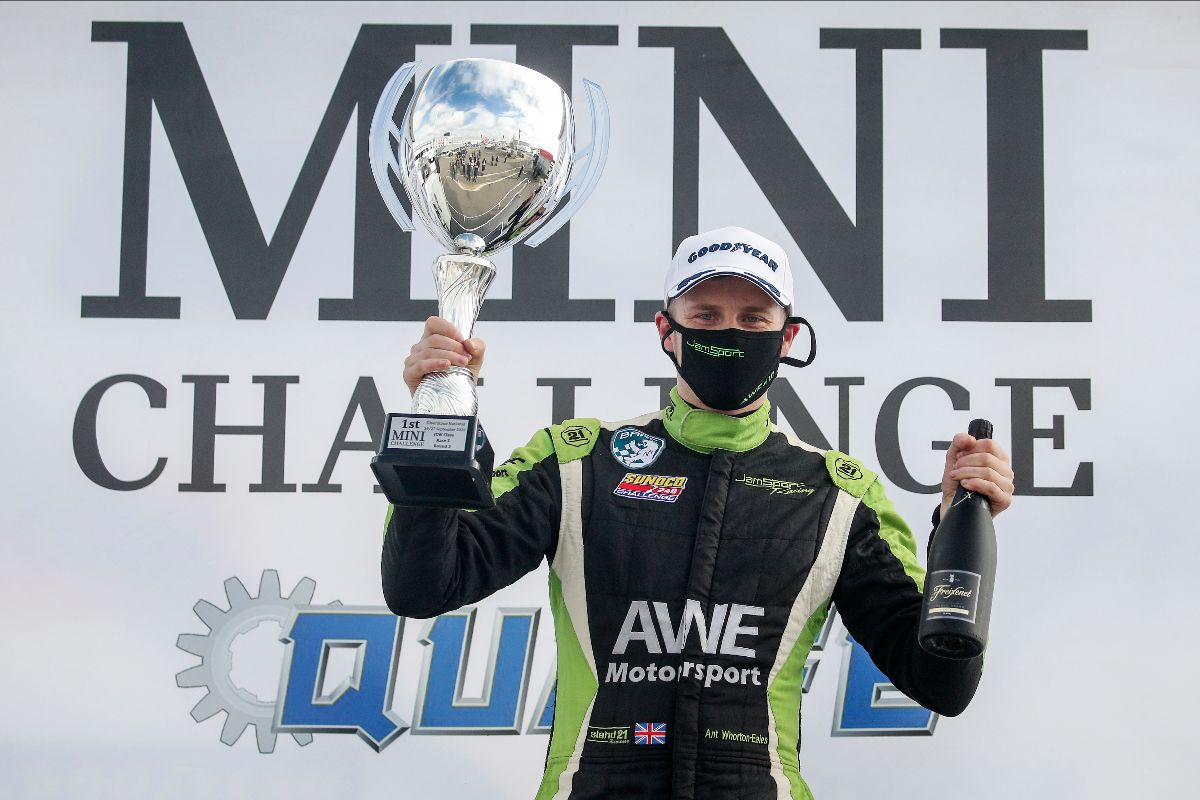 Ant Whorton-Eales hits the front with Silverstone success