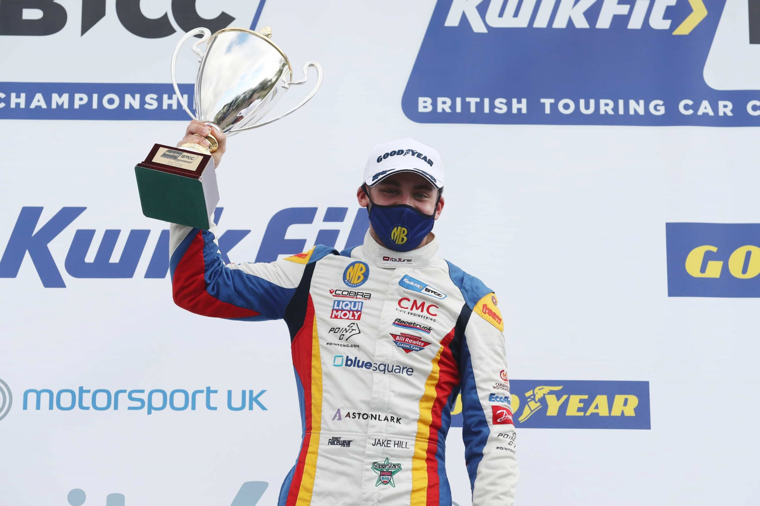 Double podium delight for MB Motorsport accelerated by Blue Square at Croft