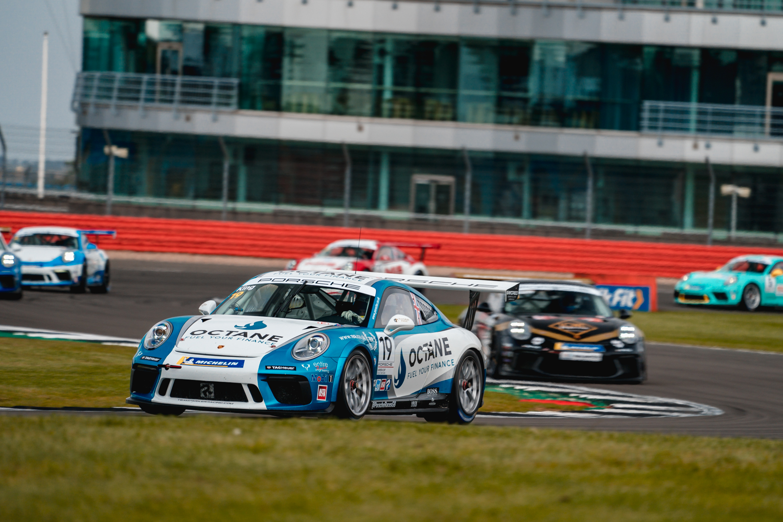 Harry King bounces back with Silverstone double