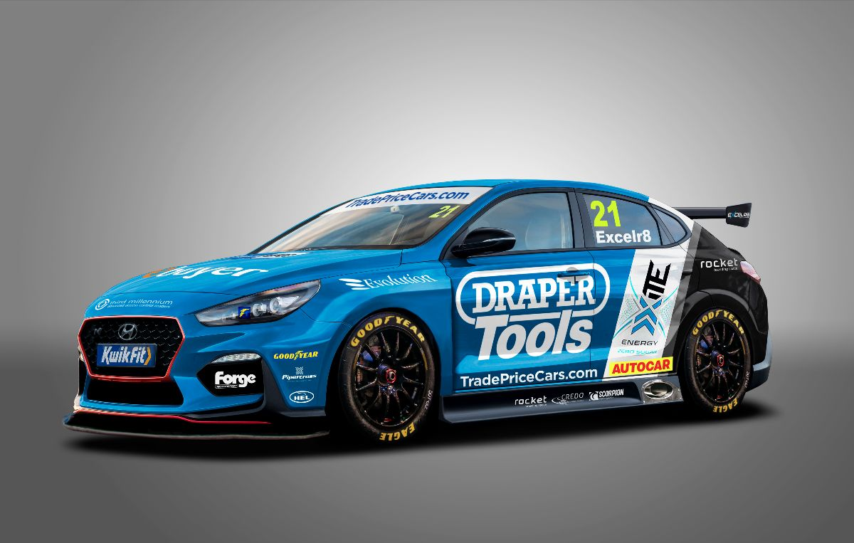 Trade Price Cars, EXCELR8 join forces for 2021 British Touring Car Championship programme