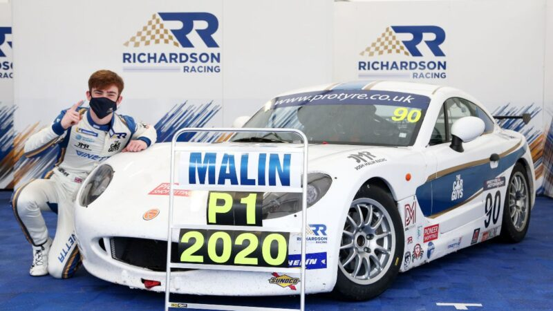 Title glory for Richardson Racing in dramatic Silverstone finale