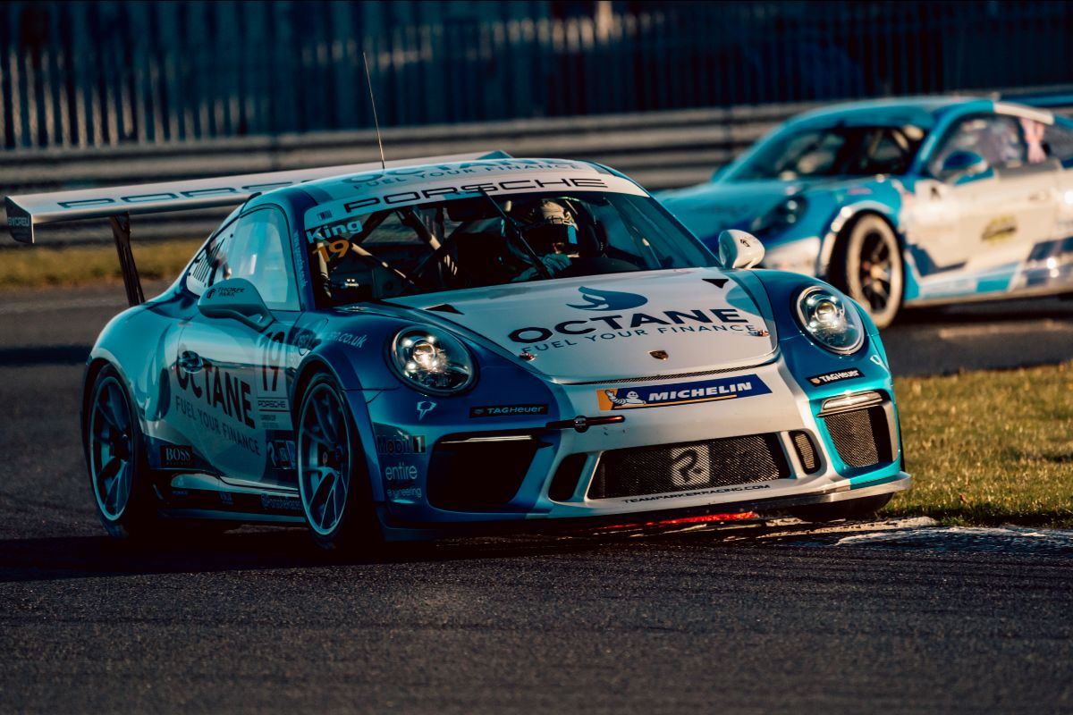 Harry King crowned Porsche Carrera Cup champion with Snetterton double