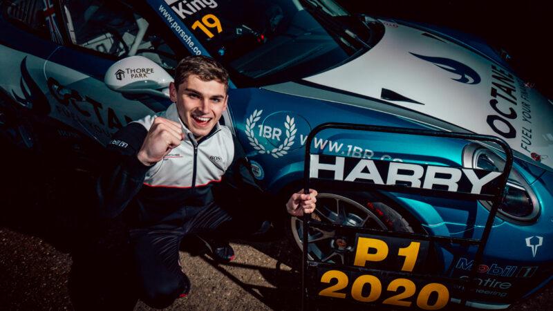 Octane Finance racer Harry King wraps up Porsche Carrera Cup title