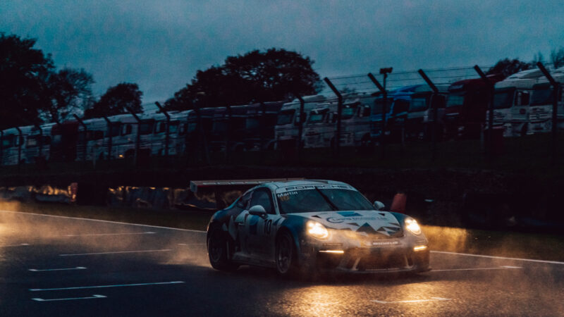 Double podium delight for Richardson Racing in Porsche finale