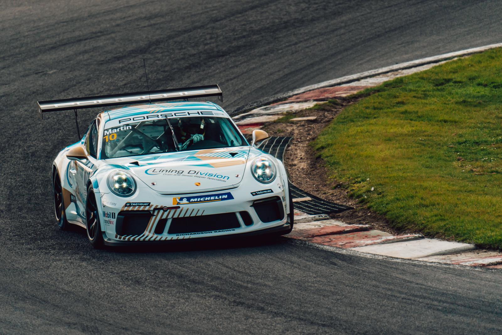 Richardson Racing retains Will Martin for 2021 Porsche Carrera Cup GB programme