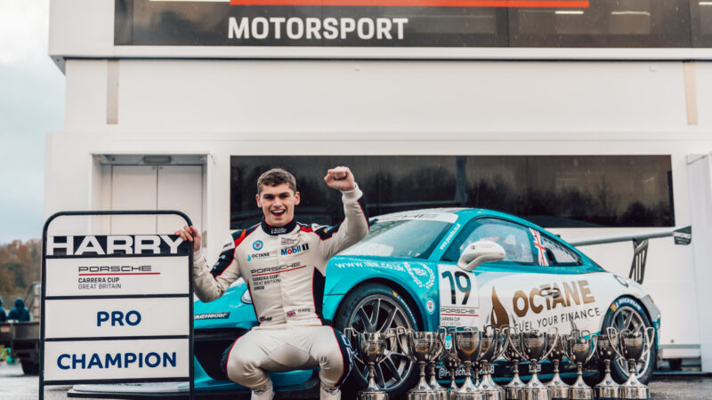 Harry King to defend Porsche Carrera Cup GB title