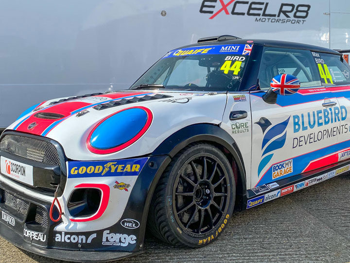 Max Bird targets JCW title with EXCELR8 Motorsport switch