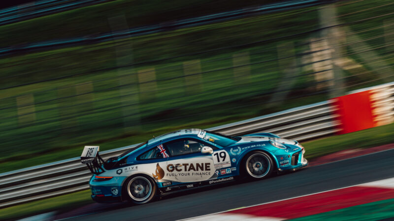 Octane Finance to support Harry King's Carrera Cup GB defence