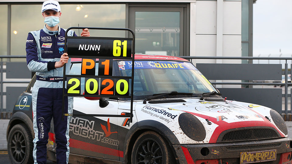 Harry Nunn to defend Cooper title with AReeve Motorsport