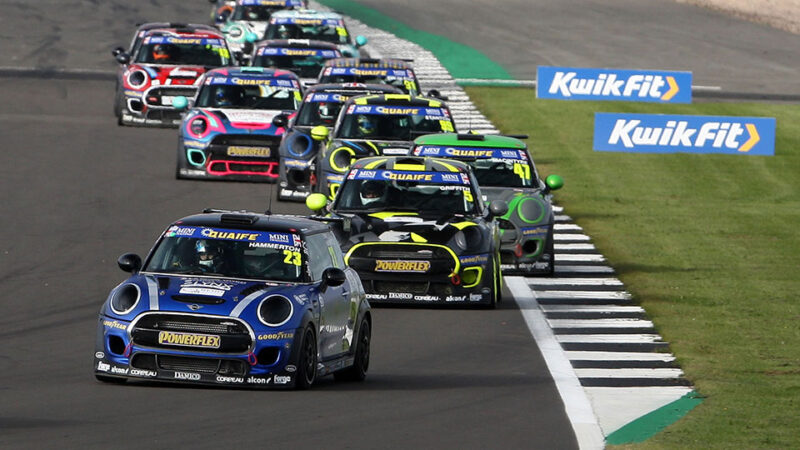 Ethan Hammerton switches to EXCELR8 for MINI CHALLENGE campaign