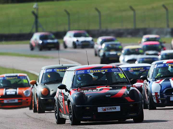 MINI CHALLENGE Trophy front-runner Josh Porter extends EXCELR8 stay