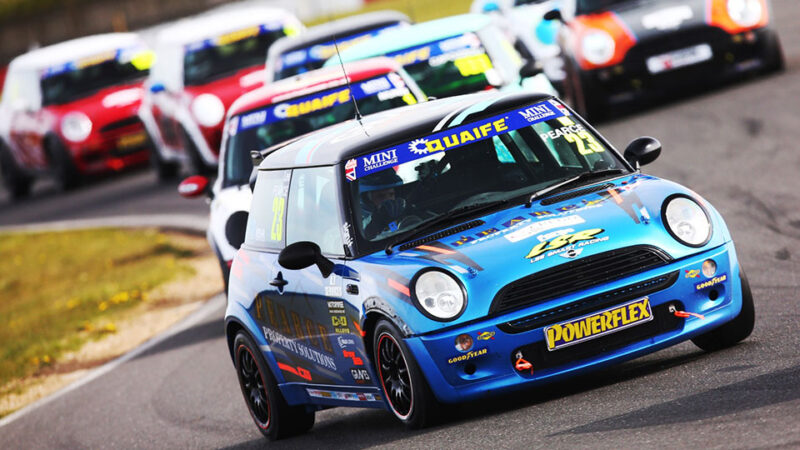 Lee Pearce wraps up dramatic race two win