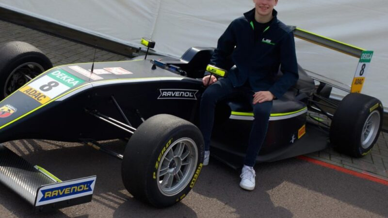 Luke Browning confirms ADAC F4 move for 2021