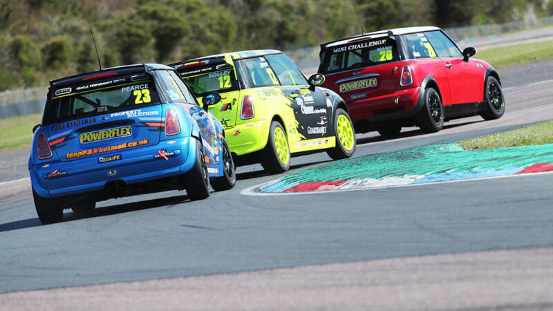 Packed field heads for Snetterton as MINI CHALLENGE Trophy season bursts into life