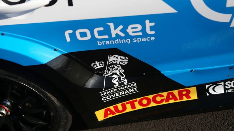 EXCELR8 British Touring Car Championship team signs up to Armed Forces Covenant