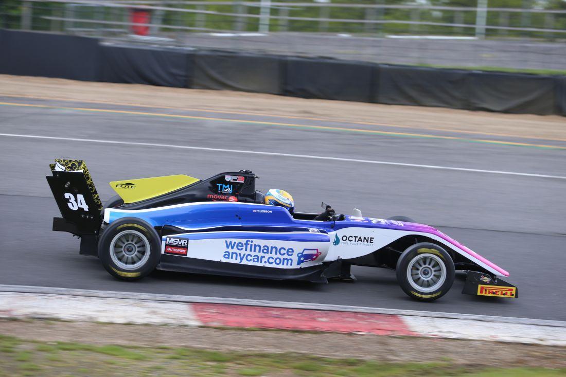 Solid start to single-seater career for Tom Lebbon