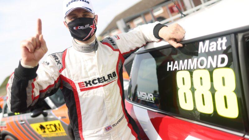 Matt Hammond converts pole into lights-to-flag success