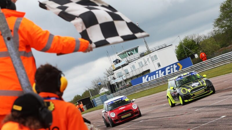 Alex Solley takes maiden win in Thruxton finale