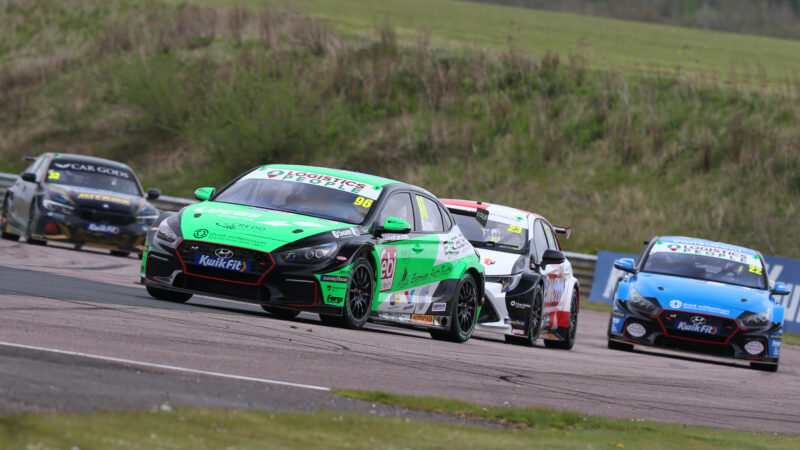 Positive start in tricky conditions for Jack Butel at Thruxton
