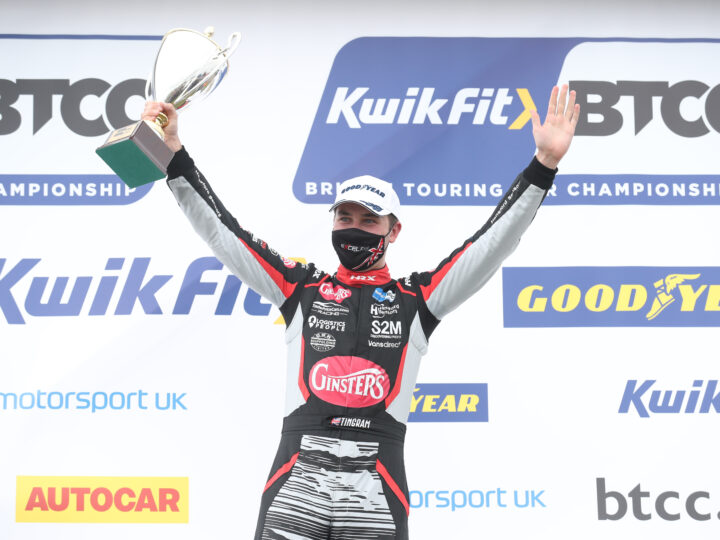 EXCELR8 with TradePriceCars.com kicks off with a podium at Thruxton