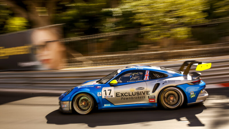 Harry King scores Monaco top ten on Porsche Supercup debut