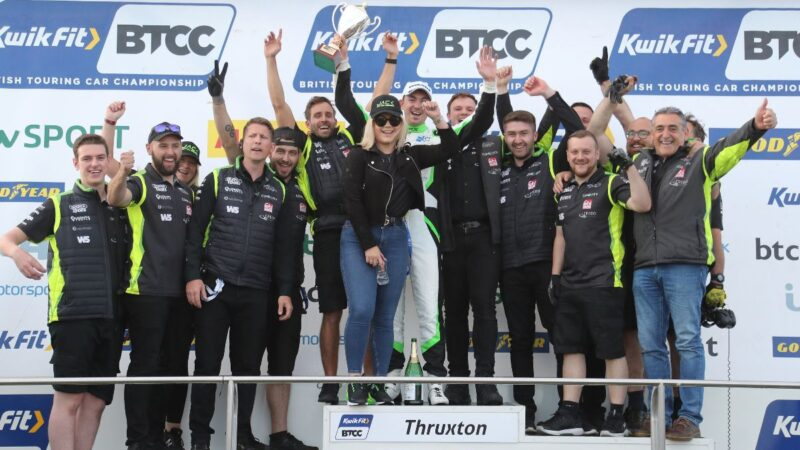 EXCELR8 with TradePriceCars.com fights to triple top ten at Thruxton